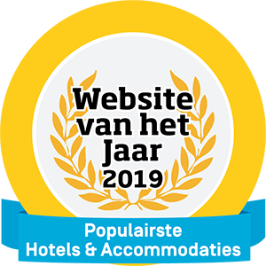 Website van het jaar - Populairste Hotels & Accommodaties