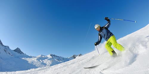 Vacation rentals winter sports