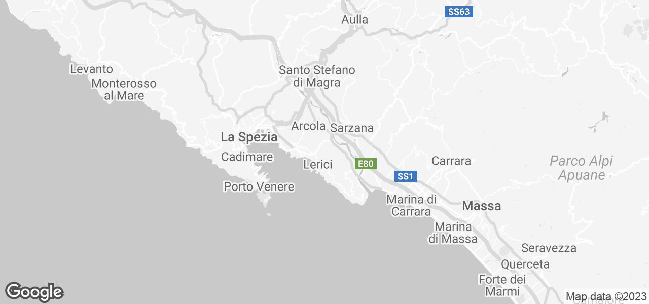 Lerici Italy Map.Rent Lerici Cinque Terre Tuscany 4 In Lerici Liguria Micazu